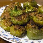 Peperoni tondi ripieni alla calabrese