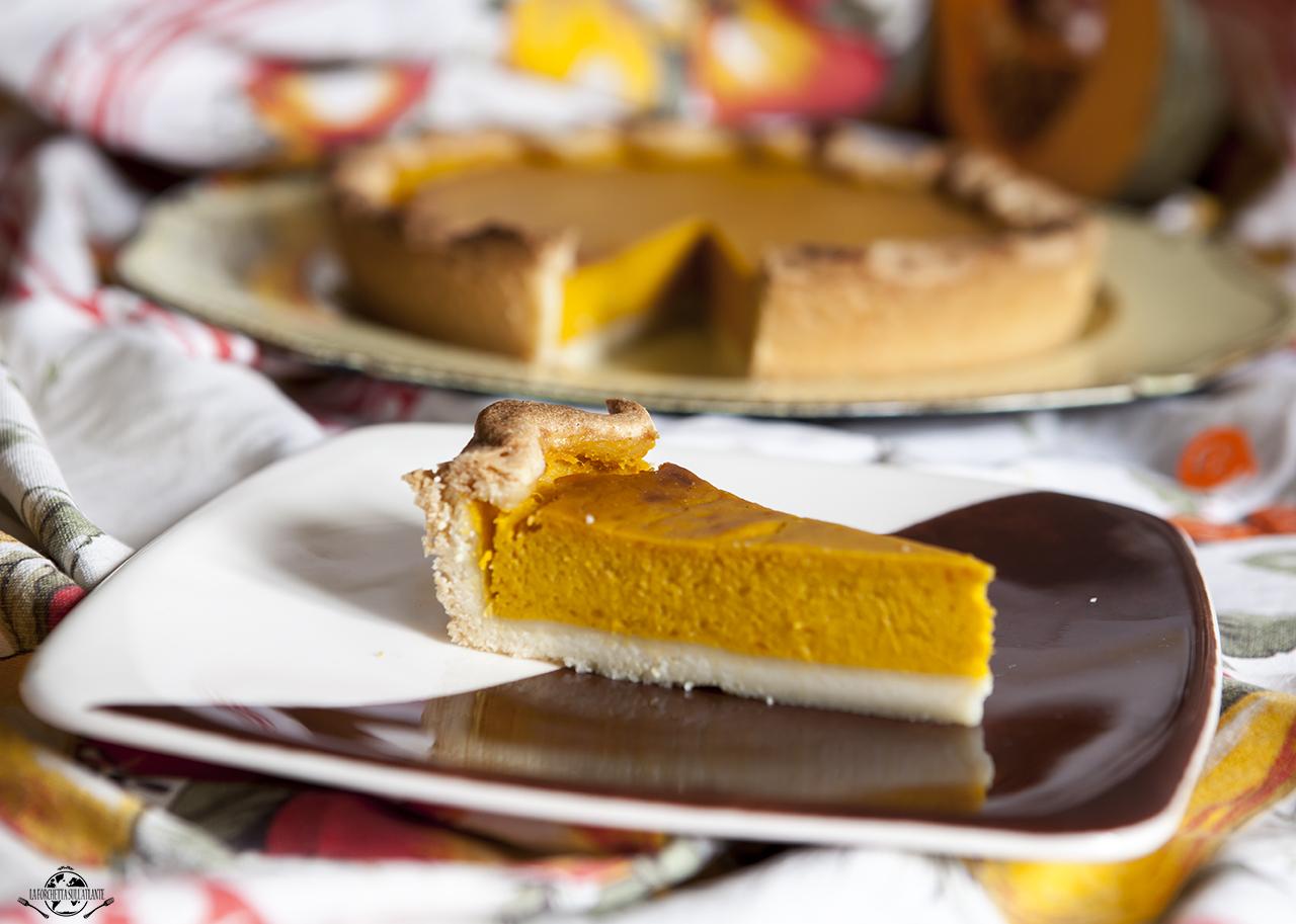 Pumpkin Pie: la Torta americana alla zucca (versione senza lattosio)