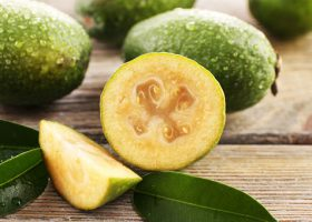 Feijoa, frutto sudamericano dalle grandi qualità nutritive