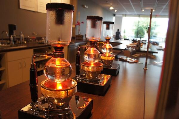 syphon coffe maker